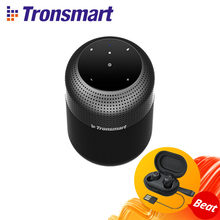 Tronsmart-Altavoz Bluetooth T6 Max, columna TWS de 60W, sonido envolvente de 360 grados, para ordenador, con asistente de voz de graves profundos, IPX5