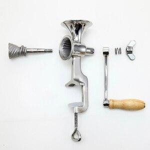 Image 2 - Broyeur manuel de moulin à épices de grain de maïs de grain sec dacier inoxydable dutilisation à la maison