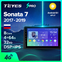 Teyes Spro Voor Hyundai Sonata 7 Lf 2017 - 2019 Auto Radio Multimedia Video Player Navigatie Gps Android 8.1 Geen 2din 2 Din Dvd(China)