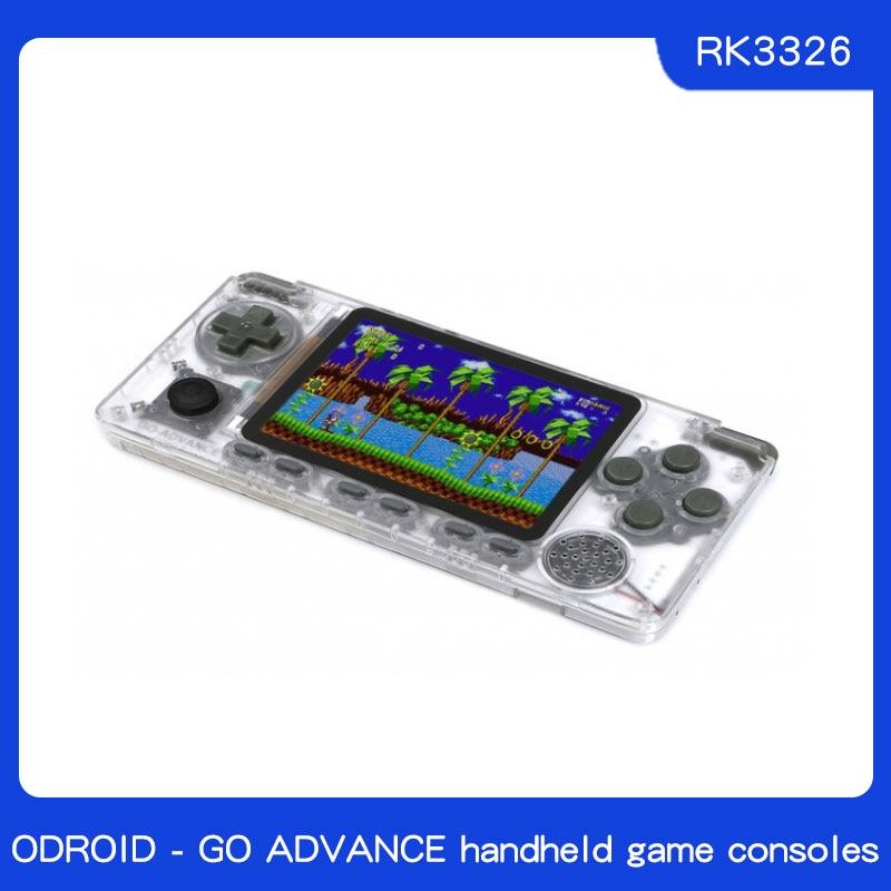 ODROID - GO ADVANCE PSP DIY Kits RK3326 Quad-core A35 Simulate The PSP