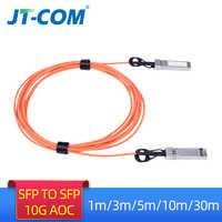1 m/3 m/5 m/10 m/30 m SFP + 10 go Module AOC SFP 10G câble à fibres optiques actif de 30 mètres Compatible avec le commutateur réseau Cisco livraison gratuite