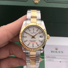 Luxury Brand Stainless Steel Sapphire Watch Women Lady Automatic Mechanical Silver Yellow Gold Black Luminous Datejust 31mm AAA+(China)