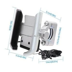 Image 5 - Đa Năng Xe Đạp Xe Máy Tay Cầm Giữ Điện Thoại Di Động Gắn Chân Đế Với Củ Sạc USB Dành Cho 4 6.5Inch ĐTDĐ Whosale
