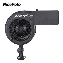 NiceFoto SF05 Studio photo vent ventilateur de flux pour prendre des Photos de Portrait de mode accessoires de photographie