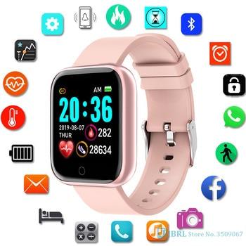 Y68 Smart Watch Kids Children Smartwatch For Girls Boys Electronic Smart Clock Students Child Sport Smart-Watch Aged 6-18 Year
