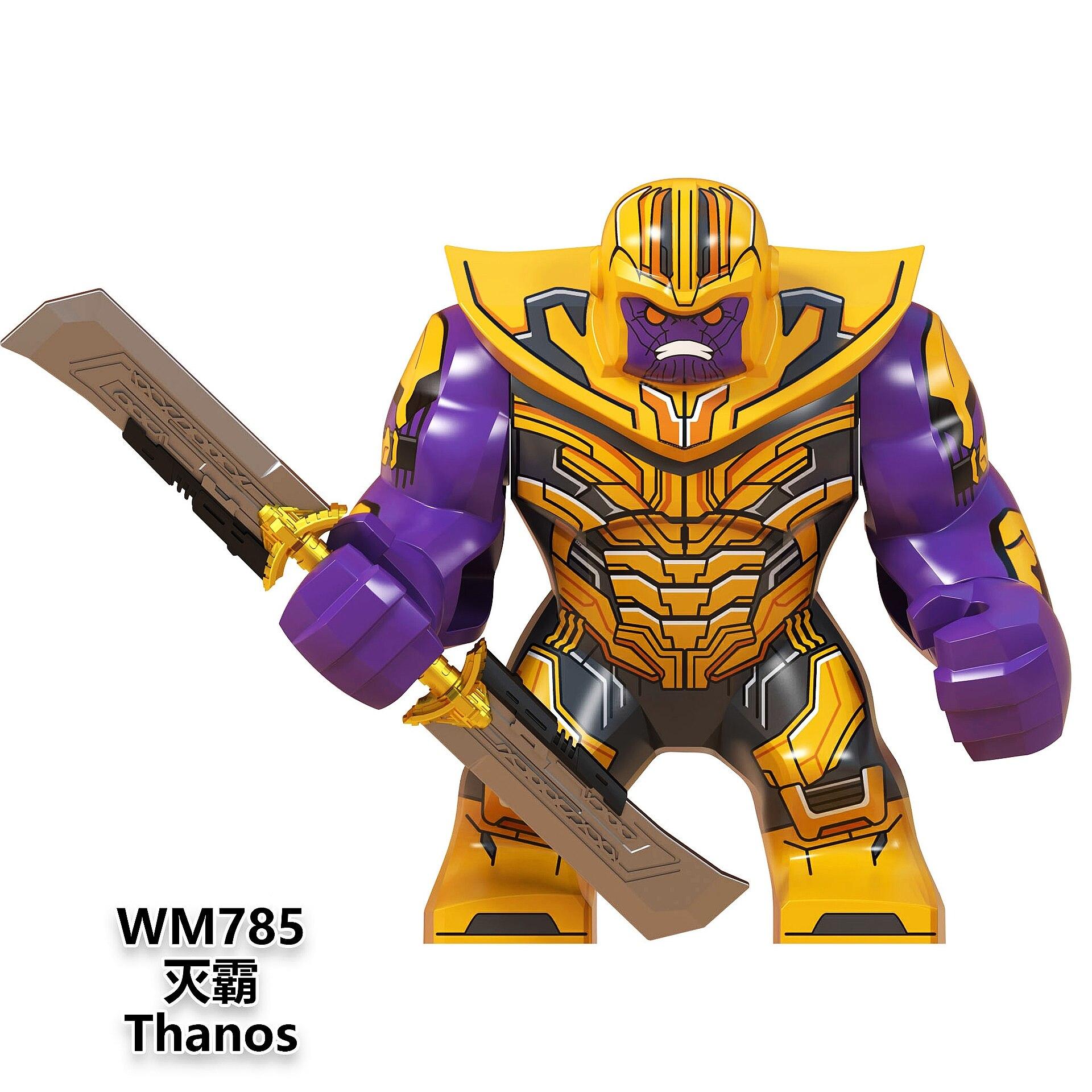 Super Heroes Thanos Black Panther  Superheros Blocks Toys