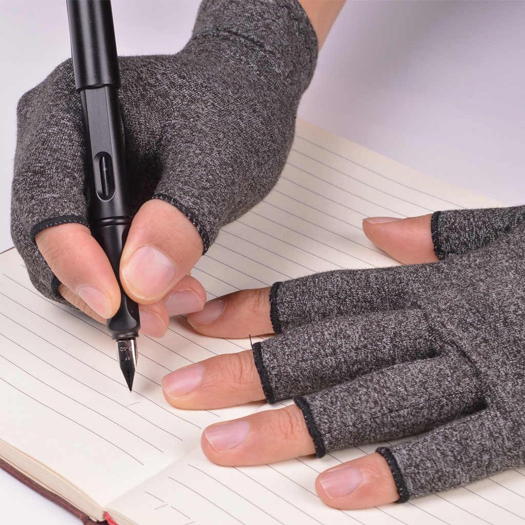 1 paire de gants de Compression pour l'arthrite soutien poignet en coton soulagement de la douleur articulaire orthèse de main femmes hommes bracelet de thérapie