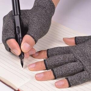 Image 4 - WorthWhile 1 คู่ถุงมือข้ออักเสบสายรัดข้อมือผ้าฝ้ายบรรเทาอาการปวดร่วมมือรั้งผู้หญิงผู้ชาย Therapy สายรัดข้อมือ