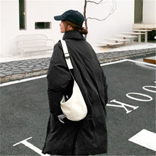 Женское однотонное пальто в Корейском стиле элегантное простое