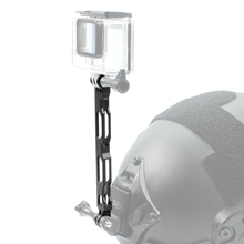 Aluminium Alloy Selfie Extension Arm Pole Lengthened Rod for Gopro hero 3+ 4 4S 5 6 7 Xiaomi Yi 4K SJCAM Action Camera