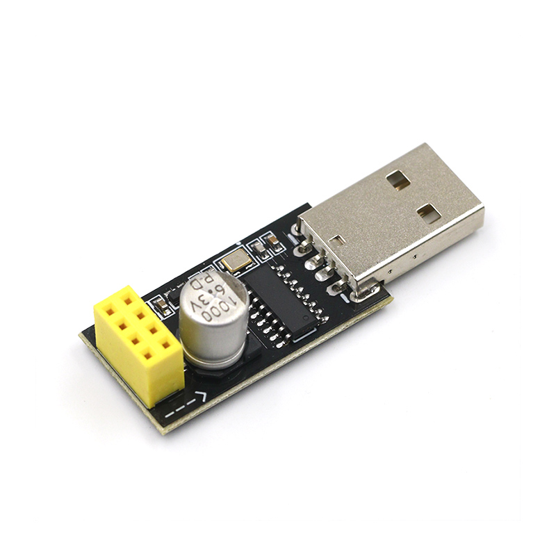 CH340 USB To ESP8266 ESP-01 Wifi Module Adapter Computer Phone Wireless Communication Microcontroller