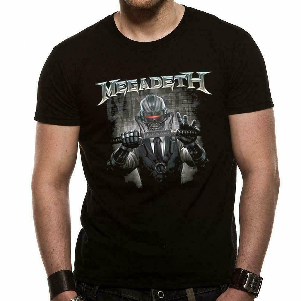 Official Megadeth T Shirt Rust In Peace Black New S Thrash Metal