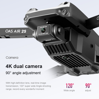 OEMG Z608 New Rc Drone 4K 1080P HD Wide Angle Camera WiFi Fpv Real-time transmission Helicopter Foldable Quadcopter Dron Toys 3