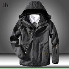 Softshell – veste coupe-vent pour homme, manteau chaud, imperméable, pour randonnée en montagne, hiver