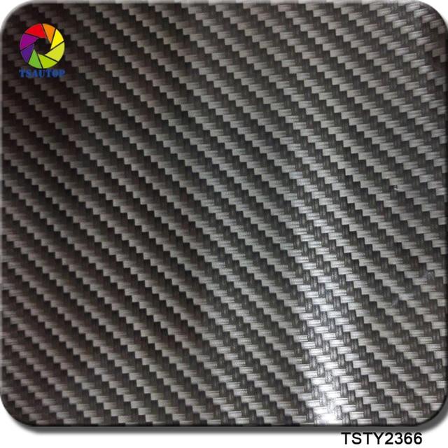 TSAUTOP Größe 1m x 10m wasser transfer druck folie hidrografik film carbon fiber aqua dip film WDF2366