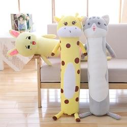 Gran tamaño gato Peluche de jirafa novio Qiao zhen lavable mujer pijama almohada grande regalo de San Valentín