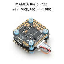 Diatone MAMBA Basic F722 MINI MK3 40A 6S 32Bit Flight Controller Stack F7 FC 40A ESC Electronic Speed Controller 20mm/M2 Tower