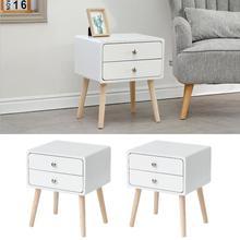 Simple Modern Bedside Table Light Luxury Nordic Storage Cabinet Ins Bedroom Furniture Storage Simple Bedside Cabinet HWC
