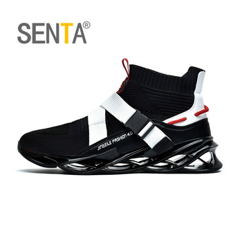 New Blade Series Socks Sports Shoes Cushioning Running Shoes for Men Wearable Sole Professional Athletic Black Jogging Shoes li ning brand new arrival arc element lifestyle series women s cushioning running sports shoes for female arhk064 xyp105