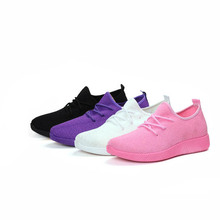 High Quality Women Comfy Sports Sneakers Breathable Mesh Platform Walking Shoes for Summer G66 merrto women waterproof walking shoes sneakers winter breathable walking shoes for women with inner fleece high quality boost