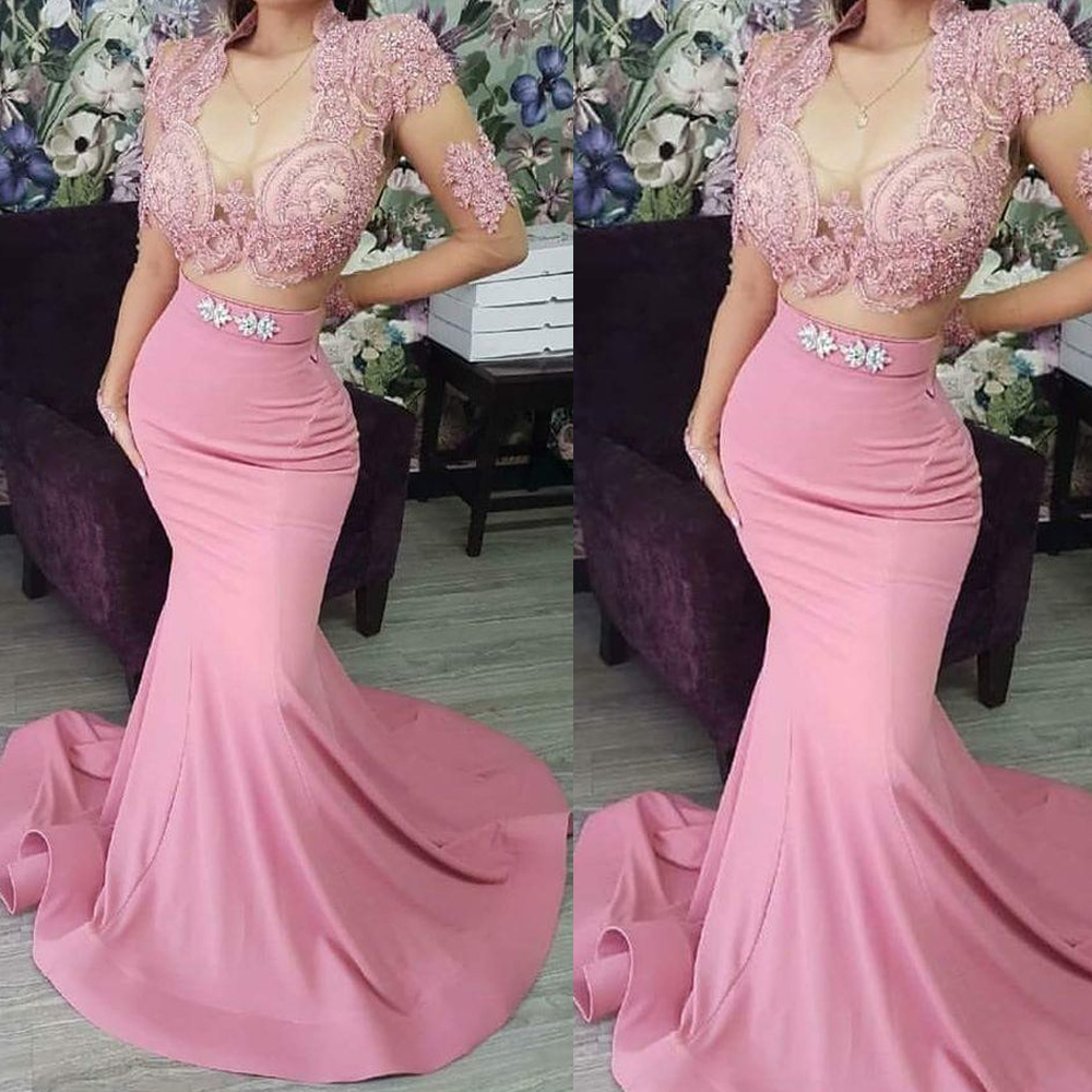 Bead And Button Show 2020.Best Discount Two Pieces Prom Dresses 2020 Long Sleeve