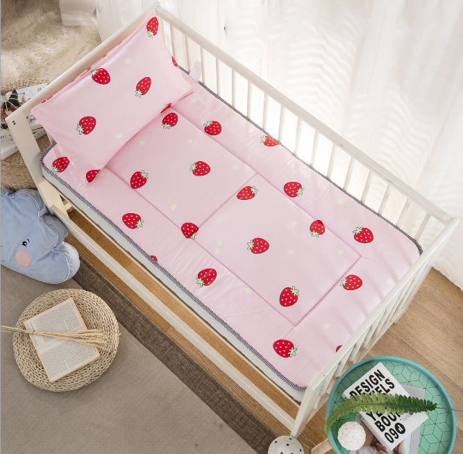 100% Cotton crib fitted sheets soft baby bed mattress covers print Newborn toddler bedding set kids mini cot sheet