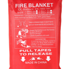 Sealed-Fire-Blanket FIRE-SHELTER Fighting Emergency-Survival Safety-Cover Boat 1m-X-1m