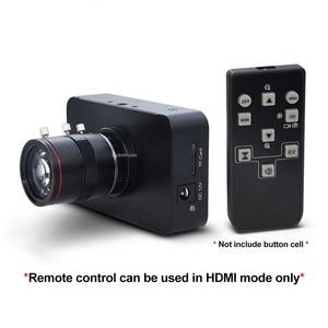 Image 5 - 12MP HDMI מצלמה 1080P USB HD הזרמת Webcam הקלטת 4K @ 30FPS תעשיית C/CS הר מצלמה עם 6 12 עדשה