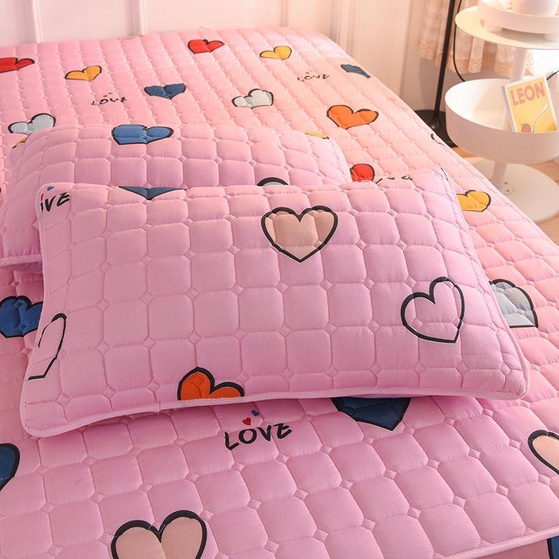 Kawaii Pink Cute Bed & Pillow Cover 3