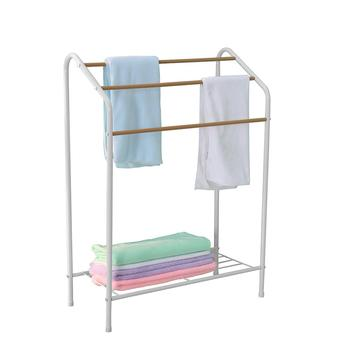 AsyPets Home Drying Rack Storage Shelf for Towel Clothing Quilt Hanging Display Rack