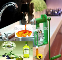 Manual Oil Press Machine Expeller Household Oil Extractor Peanut Nuts SeedsHand Operated oil press machine for family
