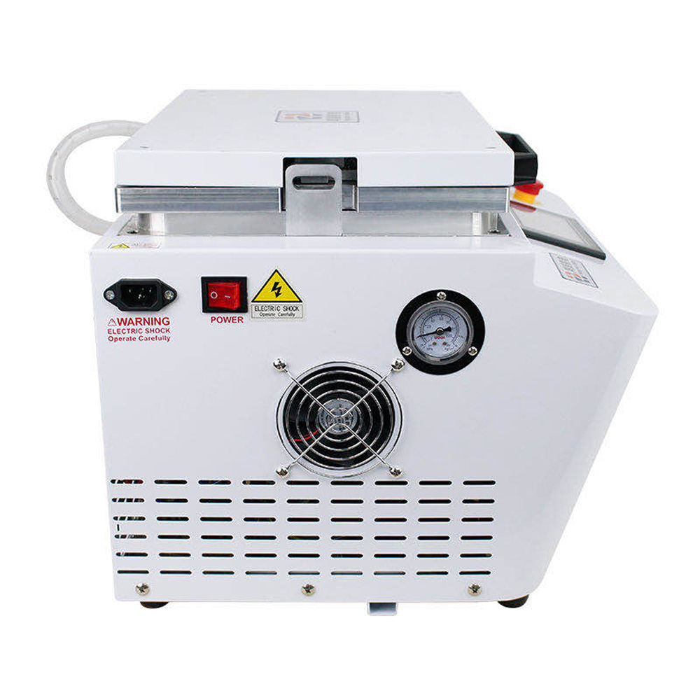12-inch Vacuum Laminating Machine With Built-In Pump And Air Compressor 1