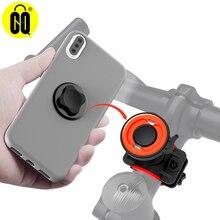 Rotação ajustável destacável da montagem do telefone da bicicleta 360 ° com fechamento rápido para o iphone 11 pro max xr xs x samsung galaxy google pixel