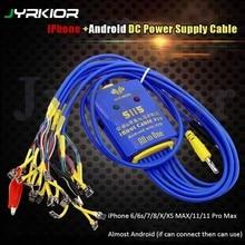 Jykior profissional multiuso power current teste dedicado cabo ativação carga placa de bateria para iphone/samsung reparo para