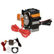 Geeetech 12V Offene Form Kunststoff 1,75mm 0,4mm Extruder + Motor Halterung Montiert Kit Für 3D Drucker