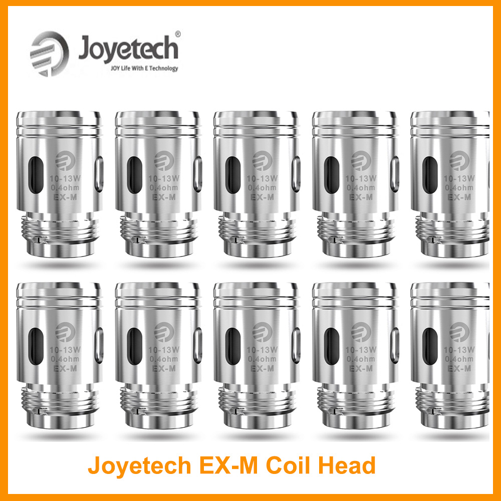 Clearance Original Joyetech EX-M 0.4ohm/Exceed Grip RBA Coil/0.8ohm EX-M Coil For Exceed Grip DIY Cotton Electronic Cigarette