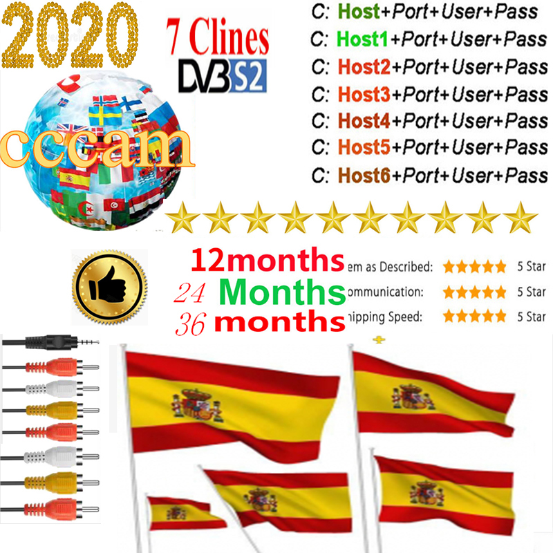 Cccam Europe  Server For 3 Year Europe Spain Portugal France DVB-S2 Freesat V7,V7S HD,V8 Super,V8 NOVA Satellite Receiver