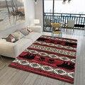 Марокканский винтажный ковер в гостиной чайный столик спальня комната полный прикроватный ковер домашний большой ковер коврик