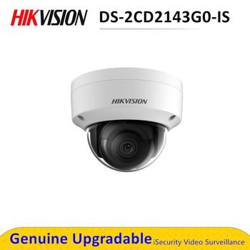 HikVISION cúpula cámara IP CCTV al aire libre DS-2CD2143G0-IS 4MP IR de seguridad de red VERSIÓN NOCTURNA Cámara H.265 con ranura de tarjeta de SD IP 67