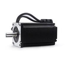 цена на Three-phase nema34 high torque motor kit hybrid stepper servo motor