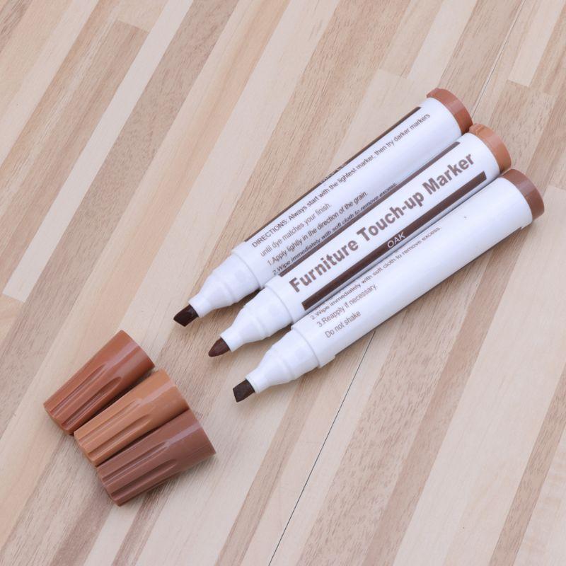 Wood Repair System Kit Filler Sticks Touch Up Marker Floor Furniture Scratch Fix 5