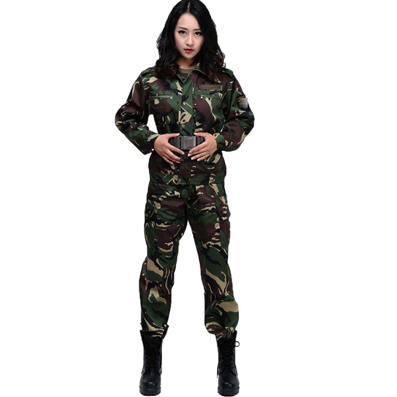 Image 2 - Jungle Camouflage Suit Mens Outdoor Training Uniforms Students Military Training Uniforms Special Mens Wear Labor InsuranceSafety Clothing   -