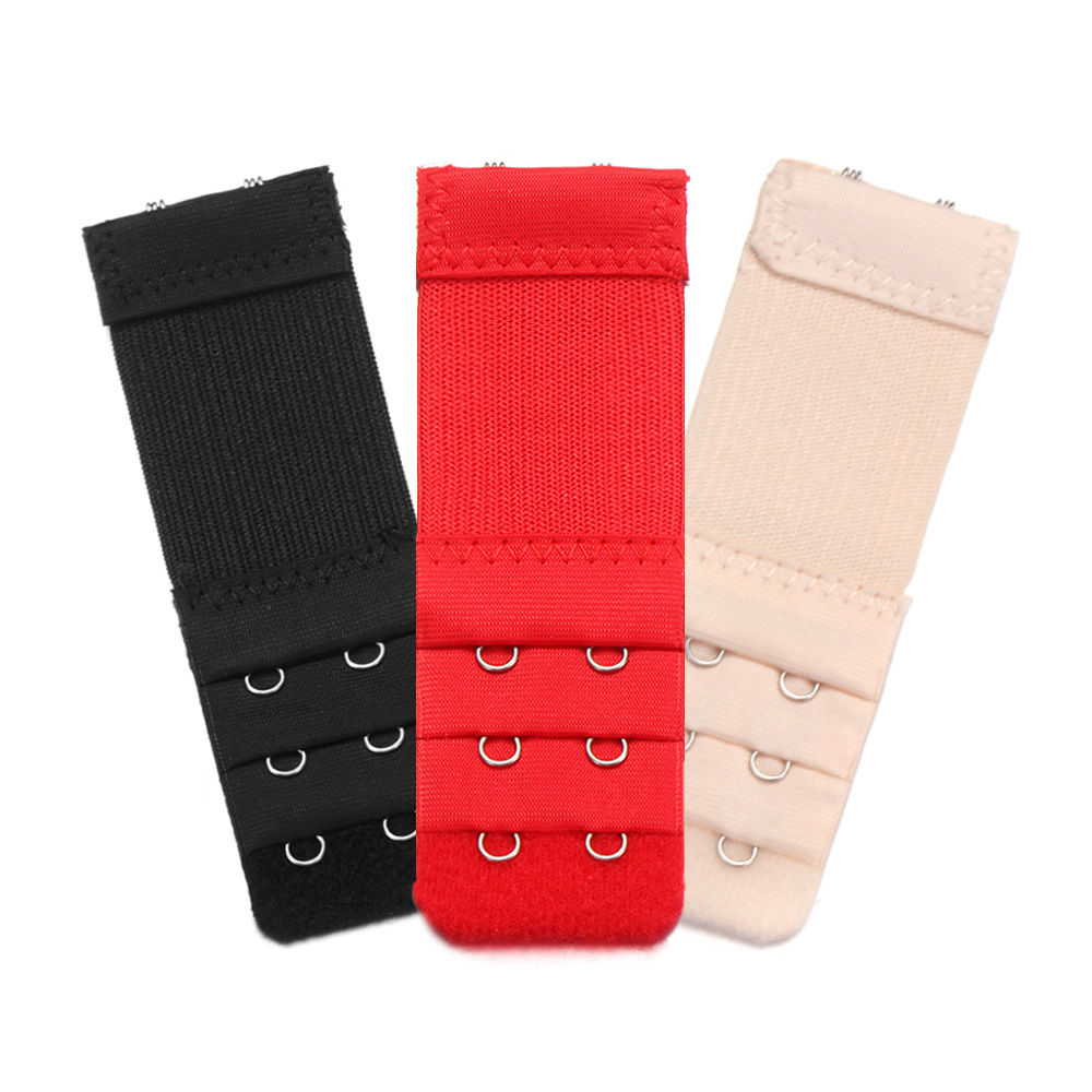 3 pcs Adjustable Bra Buckle Extender Bra Extension Underwear Strap 2//3//4 Hooks