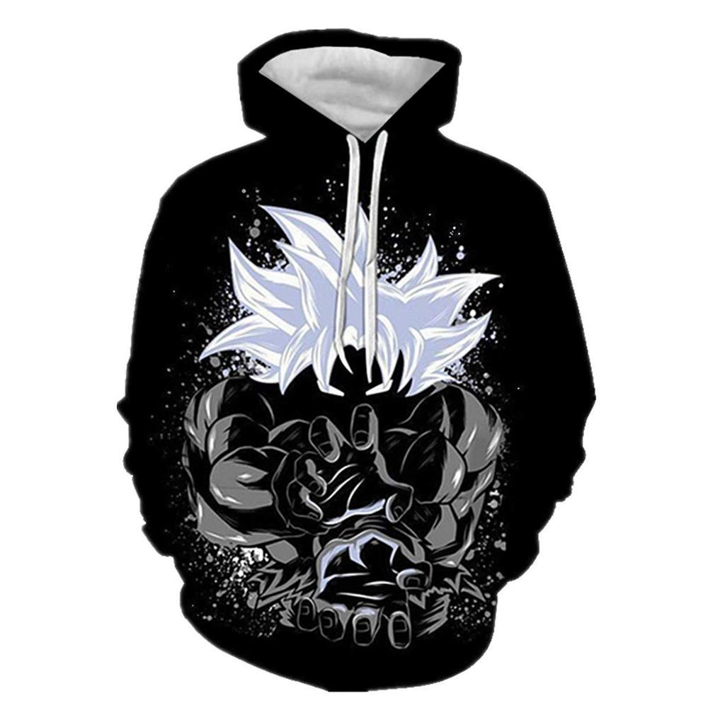 Dragon Ball Z Strong Goku 3D Hoodie Pullover Cool  Men Women Tracksuits Streetwear Hoody Harajuku Hooded Sweatshirts Plus Size