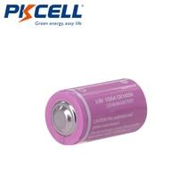 5PCS PKCELL CR12450 3V lithium battery 600mah 1/2 AA 14250 For Gifts Camera Flashlight Toys Digital batteries
