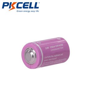 Image 1 - 5PCS PKCELL CR12450 3V lithium battery 600mah 1/2 AA 14250 For Gifts Camera Flashlight Toys Digital batteries