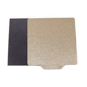 Blurolls voron v0 120*120mm texturizado em pó e suave pei primavera chapa de aço + base magnética para voron impressora 3d