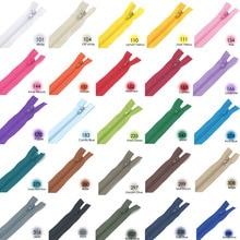 25 Цвета 23 см с закрытым концом нейлоновые молнии портновский пошив Craft одежды швейные изделия ручной работы DIY аксессуары 10 шт./упак