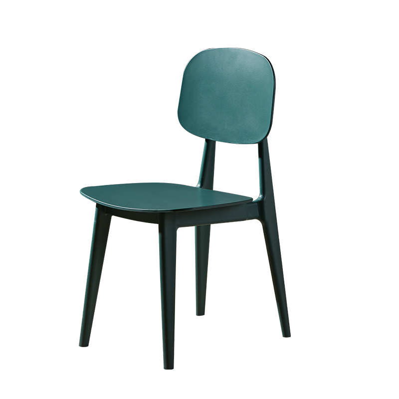 Modern Minimalist Creative Nordic Chair Restaurant Home Plastic Dining Chair Desk Computer Back To Discuss Leisure Chair