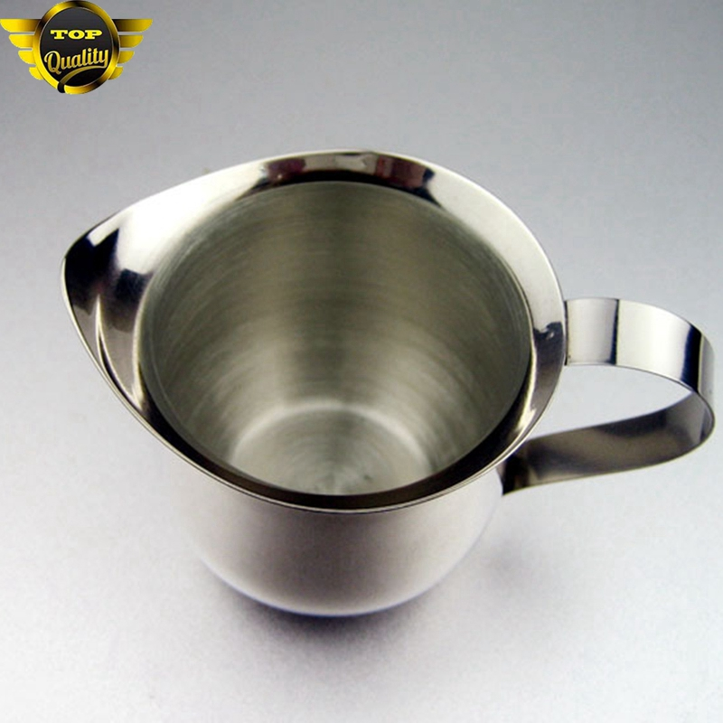 Stainless Steel Frothing Pitcher Latte Espresso Art Milk Coffee Tea Jug Cup 1pc